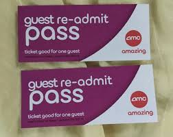 details about 4 amc theatres passes