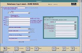 data input bgr geology 1 5 000 000 data input mask template for the database