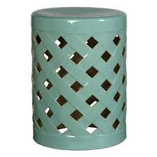 emissary criss cross turquoise ceramic
