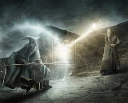 Gandalf Light Staff The Final Battle Of Gandalf Vs Dumbledore Nerd Reactor