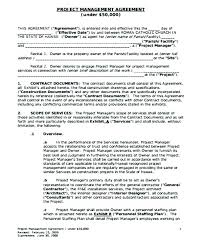 Artist Management Contract Template Model Agency Agreement Form ...