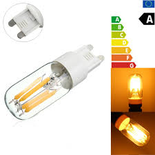 cartisfull com mini g9 2w dimmable retro led filament bulb refrigerator chandelier light replacement