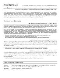 Loan Officer Resume Example Sam Sevte