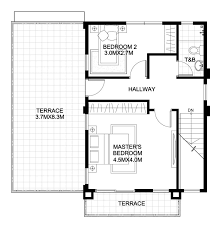 5 Home Plans 11x13m 11x14m 12x10m 13x12m 13x13m - House Plan Map | Home  design plan, Two story house design, Two storey house