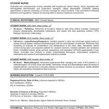 Resume Builder For Nurses Example Of A Nursing Resumes Exol