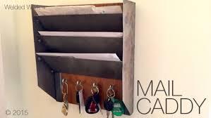 diy mail key organizer