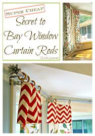 Most Popular DIY Projects. How to make DIY Bay Window Curtain Rods for your  home using three easy to find
