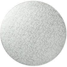 silver 12 inch round cake board