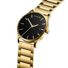 men s black and gold watch by mvmt join the mvmt