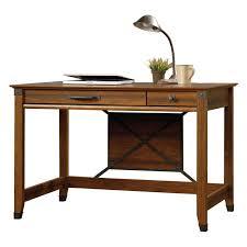 sauder carson forge smartcenter side table washington cherry hayneedle
