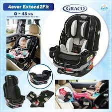 graco 4ever extend2fit 4 in 1 car seat clove