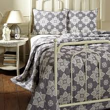 67 best Omas Quilts images on Pinterest | Primitive country ... & Adelaide Grey Quilt Collection Adamdwight.com