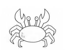 Small Picture Printable Crab Coloring Pages Coloring Me