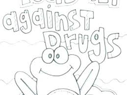 Red Ribbon Color Pages Red Ribbon Week Coloring Pages
