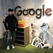 Office Halloween Google Office Getting Ready For Halloween