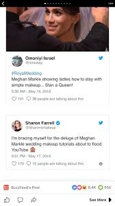 sharon farrell в twitter i m bracing myself for the deluge of meghan markle wedding makeup tutorials about to flood you