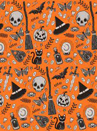 Halloween Print Wallpapers - Wallpaper Cave