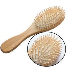Деревянная бамбуковая <b>щетка</b> для волос, кисти для ухода за ...