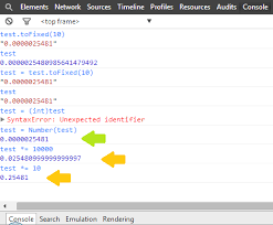 js in chrome console