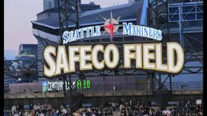 Seattle Mariners Seating Chart Sign On The Outfield Wall Of Safeco Field Seattle Mariners