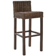 Safavieh St. Thomas Indoor Wicker Brown Bar Stool - Free Shipping Today -  Overstock.com - 13975900
