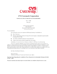 Can You Get A Doctors Note From Cvs Cvs Caremark 2008 Proxy Statement