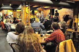 Fab music three nights a week! Crescent Moon Coffee Downtown Lincoln Ne