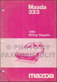 mazda service manuals shop owner maintenance and repair 1986 mazda 323 wiring diagram manual original