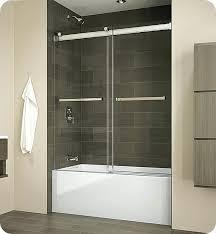 frameless sliding tub doors delta bathtub door installation