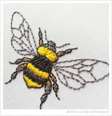 <b>New Embroidery</b> Patterns BIG BLOOMS | <b>Bee embroidery</b>, Hand ...
