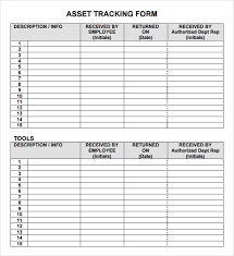 Personal Inventory Personal Asset Inventory Management Tracking Template Form Duyudu
