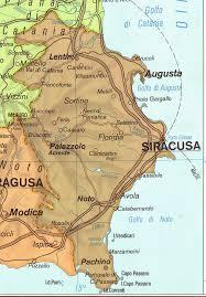 Siracusa Cartina Geografica Tomveelers