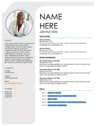 Template Microsoft Word Cv Template Free Resume Templates