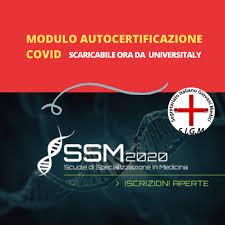 SEGRETARIATO ITALIANO GIOVANI MEDICI - ‼️AUTOCERTIFICAZIONE COVID‼️ Online  il modulo di Autocertificazione Covid da presentare all'ingresso del test!  Lo trovi su Universitaly