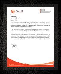 Making A Letter Head Elegant Professional Real Estate Agent Letterhead Design