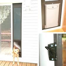 dog door in window ideal doors fresh striking sliding glass install