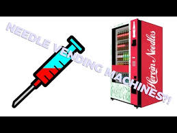 Needle Vending Machine Las Vegas Inspiration Nevada Becomes First State To Install Syringe Vending Machines