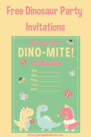 free dinosaur party invitations super cute girls dinosaur party invitations free download