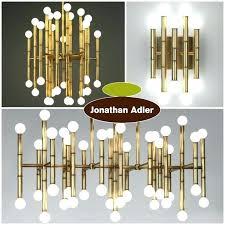 chandelier chandeliers photo rectangle meurice rectangular jonathan adler 42 light cha