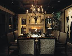 dining room room crystal chandelier contemporary velvet leather upholstered chair white finished wooden table tommy