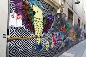 >street art melbourne wall painting 4 living nomads travel  street art melbourne wall painting 4