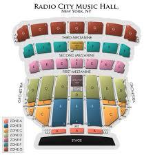 Detailed Seating Chart Of Radio City Music Hall Radio City Music Hall 2019 Seating Chart