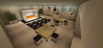 how to make a table in minecraft. Minecraft Dining Room Breakfast Nook Table Hall Fireplace How To Make A In