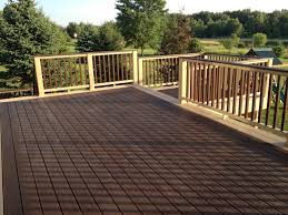 Outdoor Lowes Deck Railing For Outdoor Design  Griffoucom - Exterior decking materials