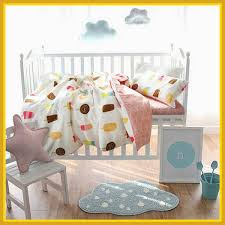 appealing cute baby bedding set ice cream duvet cover cotton bed sheet of site com concept