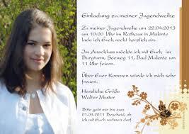 Jugendweihe Spruche Fur Einladungskarten Einladungskarten With