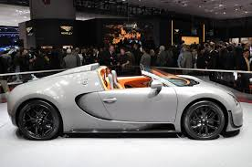 Bugatti Veyron Grand Sport Vitesse at Geneva 2012 Photo - Original ...