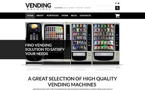 Vending Machine Website Beauteous Vending Machine Business WooCommerce Theme 48