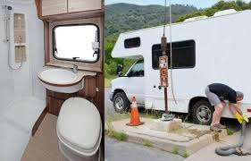 how to clean rv toilet most