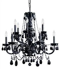 absolutely ideas black crystal chandelier monet 17 in indoor drum shade with